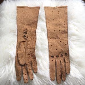 Louis Vuitton long driving gloves